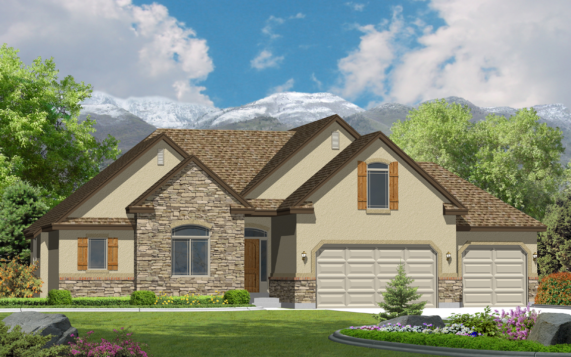 Cedar new homes perry homes southern utah for Home designs utah