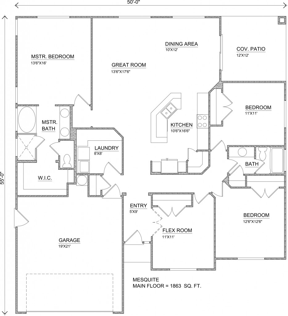 Mesquite home plans perry homes southern utah for Utah home builders floor plans