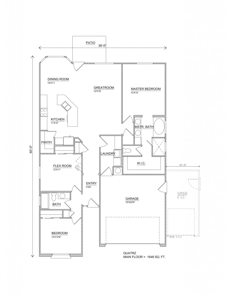 Quartz Home Floor Plans Perry Homes Southern Utah