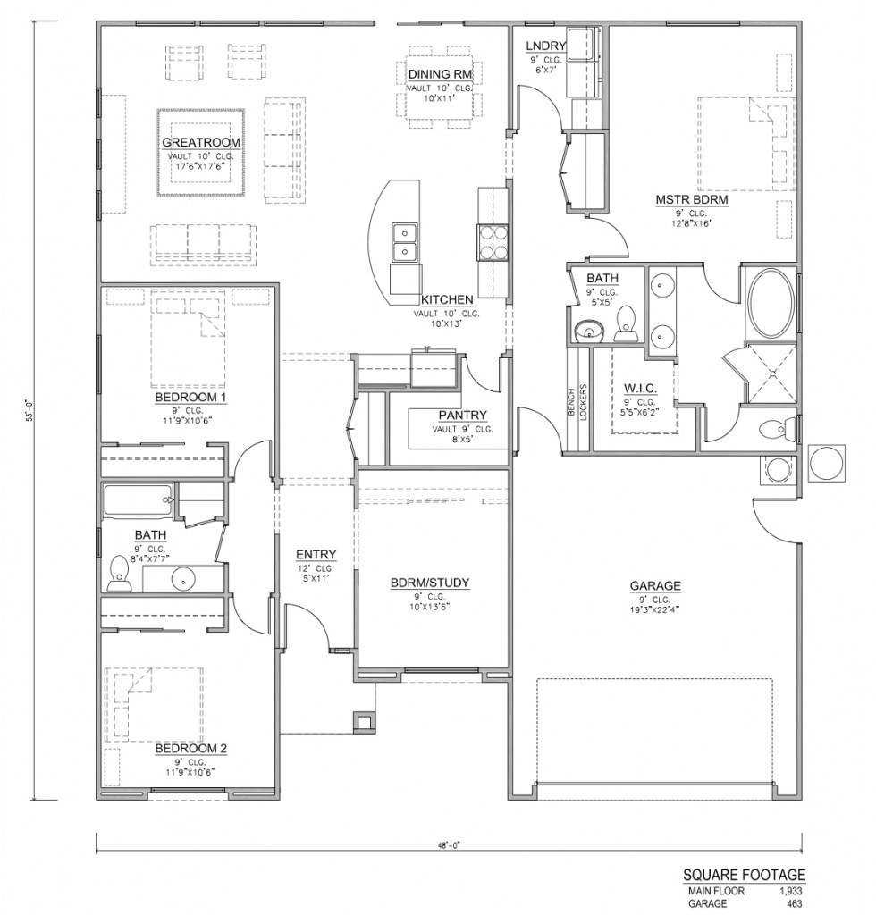 Utah house plans home design and style for Home designs utah