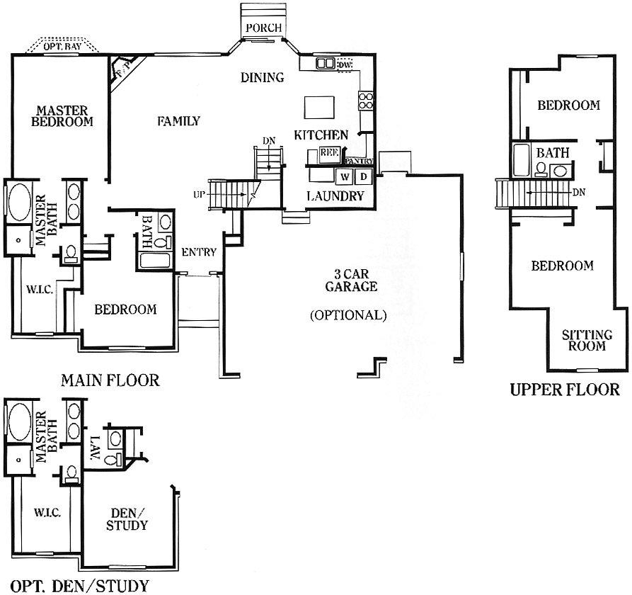 Cedar New Home Floorplans