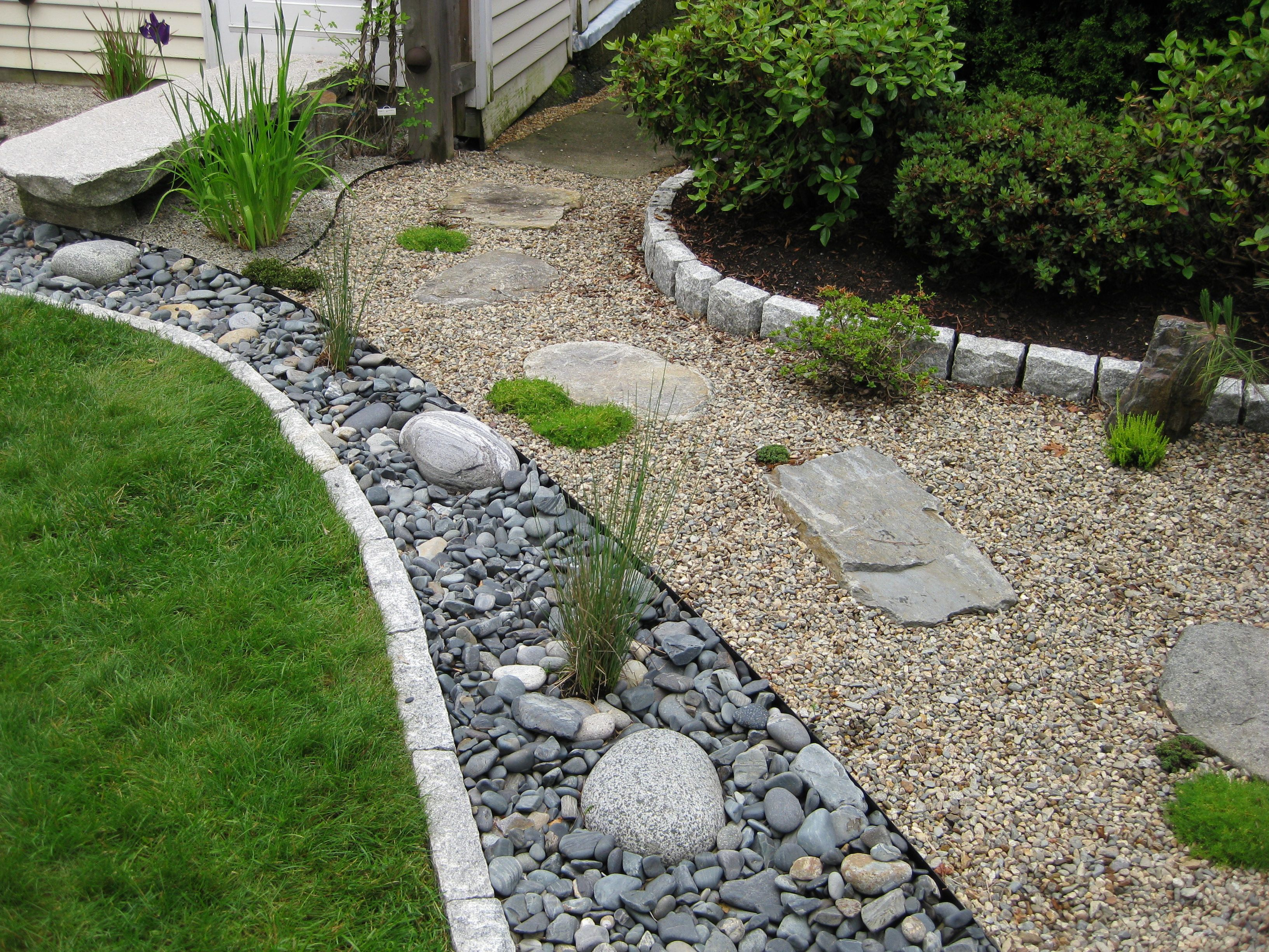 Beautiful landscaping ideas that save water and money for Landscaping rocks and plants