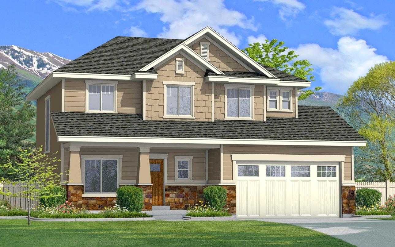 Home designs floor plans perry homes southern utah for House plans utah