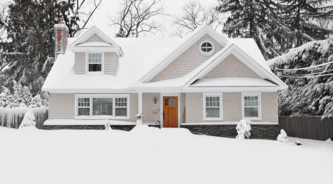 buying a home in the winter season